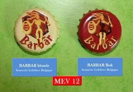Barbar Blonde & Bok (parfait état - Pas De Trace De Décapsuleur) MEV12 - Bière
