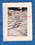 Photo Ancienne - ALGERIE - TIPAZA - Soldat Bien équipé - Arme Régiment Génie Militaire Français - 1957 - Guerre - Guerre, Militaire