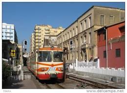 15 Treno RALn 64.05 FCE - Ferrovia Circumetnea Fiat Savigliano Catania Borgo Railroad Train Railways Treni Chemin De Fer - Trains
