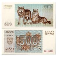Billet Lituanie 500 Talons - Lithuania