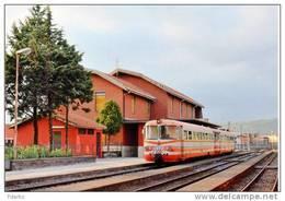 110 Treni Fiat FCE - Ferrovia Circumetnea RALn 64.04 Bronte Catania Rotabili Trein Railways Treno Steam Chemin De Fer - Trains