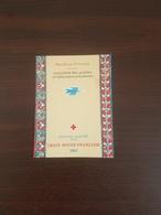 Carnet Croix Rouge N° 2010 Année 1961 Neuf Sans Charnière**  Très Bon Etat - Cruz Roja