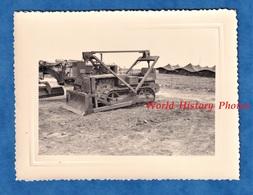 Photo Ancienne - ALGERIE - BENI MESSOUS ? - Tracteur Du Génie Militaire / Bulldozer  - 1958 - Colonial Guerre BTP Camion - Guerre, Militaire
