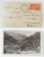 Cartolina Illustrata Cencenighe (BL) Per S.Pietro Capofiume (BO) - 17/07/1941 - Marcofilie