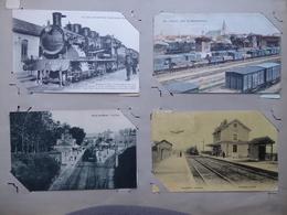 240 Cartes Postales Sur Pages D'album Avec De Très Bonnes Carte. Tout Est Scanné - 100 - 499 Postcards