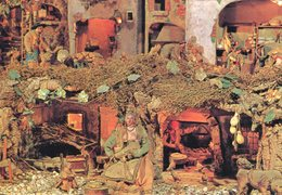 Monumentale Presepe Napoletano Settecentesco (5 Cartoline) - Altri