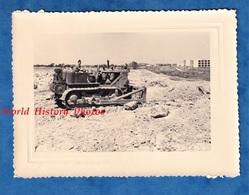 Photo Ancienne - ALGERIE - BENI MESSOUS ? - Chantier Des Essences - Bulldozer Tracteur - 1958 - Génie Colonial Guerre - Guerre, Militaire