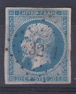 N°14 OBL. PC 3271  (ST SAUVEUR-s-DOUVE 48) - Marcophily (detached Stamps)