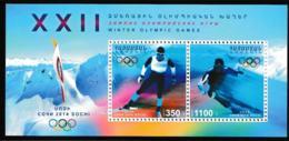 Armenia 2014 Sochi Olympic Games - Souvenir Sheet MNH/** (H34) - Winter 2014: Sotschi