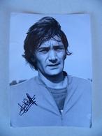 Photo De Presse Avec AUTOGRAPHE JEAN CIESELSKI RC LENS 1973 Football Footballeur - Sports