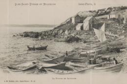 CPA SAINT PIERRE ET MIQUELON @ POINTE SAVOYARD  @ - Saint-Pierre-et-Miquelon