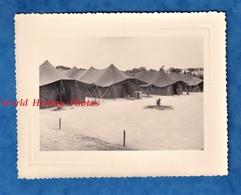 Photo Ancienne - ALGERIE - BENI MESSOUS - Vue Du Campement - Mai 1958 - Materiel Soldat Regiment Génie Colonial Guerre - Guerre, Militaire