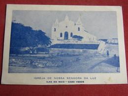 Cap Vert - Cabo Verde - Ilha Do Maio - Igreja De Nossa Senhora Da Luz - Cap Vert