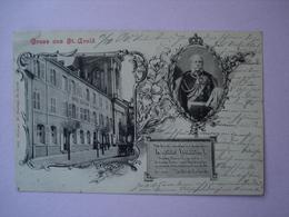 57 - SAINT AVOLD - Gruss Aus St Avold - Kaisers W. Hôtel.... - Saint-Avold