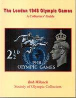Livre : Sport : Collection Complète ( Timbres , Cartes, Objets...etc) Sur Les Jeux Olympiques De Londres 1948 - Livres, BD, Revues
