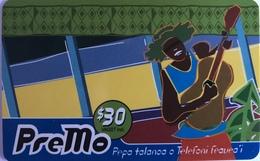 SAMOA  -  Prepaid  -  PreMo  -  $ 30 - Samoa