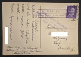 Schlaup über Jauer (Męcinka / Jawor) - Volksdeutsche Mittelstelle Umsiedl. - Schlesien Lager Schlauphof 112 (18-12-1944) - 1940-1944 Deutsche Besatzung