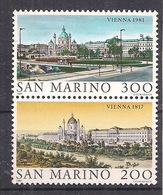 SAN MARINO 1981  VIENNA 1817 E 1981 MNH XF - San Marino