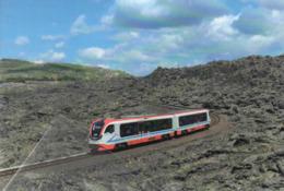 511 Treno FCE - Ferrovia Circumetnea DMU-002 Newag Bronte Catania Rairoad Treain Railweys Treni Rotabili - Stations With Trains