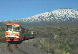 555 FCE - Ferrovia Circumetnea ADe 12 Bronte Catania Rairoad Treain Railweys Treni Rotabili - Stations With Trains