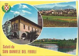 Saluti Da San Daniele Del Friuli - Udine - H6395 - Udine