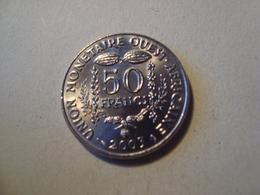 MONNAIE AFRIQUE DE L'OUEST 50 FRANCS 2003 - Monnaies