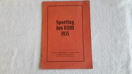 Raarr!! Heft Sporttag Des BDM 1935 BDM - Körperertüchtigung Bund - 1939-45