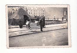 Photo Originale Amateur Guerre 39-45 Libération G.I. Soldat Americain - Guerre, Militaire