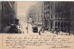 1144/ Gruss Aus Graz, Herrengasse, 1897 - Graz