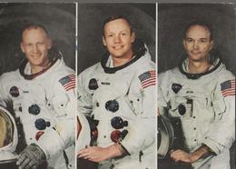 Apollo 11 - Armstrong, Collins E Aldrin  - Omaggio Di Epoca - H6398 - Sterrenkunde