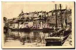 CPA Granville Le Port Bateaux - Granville