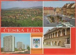 Repubblica Ceca - Czech Republic - Česká Republika - 1962 - 30h Československo - Česká Lípa - Multivues - Viaggiata Da D - Repubblica Ceca