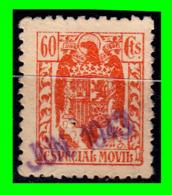 ESPAÑA SELLO ESPECIAL MOVIL AÑO 1943 60 CENTIMOS - Fiscales