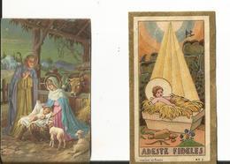 MIGNONNETTE ILLUSTRATEUR JOYEUX NOEL 2 CP MINI NATIVITE CRECHE JESUS - Unclassified