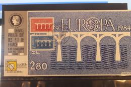 Frankreich CEPT 1984, Offizielle Karte Maximumkarte Der PTT - Europa-CEPT