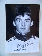 Photo De Presse 1986 FREDERIC MEYRIEUX Avec AUTOGRAPHE OM Marseille Puis RC Lens Football Footballeur - Sports