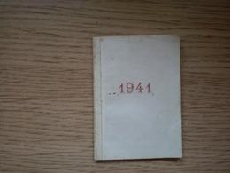 Calendars 1941 Small Format Latinica Cirilica  Croatia Serbia - Calendriers