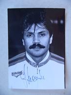 Photo De Presse 1988 GUY LACOMBE AS CANNES RC LENS AUTOGRAPHE Football Footballeur - Sports