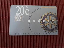 Phonecard Andorra Used Only 10.000 EX Made Rare - Andorra