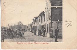 Groete Uit Sint-Maartensdijk - Geanimeerd - 8741 - Tholen