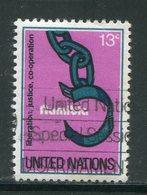 NATIONS UNIES- Y&T N°288- Oblitéré - New-York - Siège De L'ONU