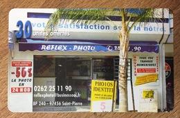 RÉUNION REFLEX PHOTO CARTE À CODE PRIVÉE XTS TELECOM NEUVE UT PHONECARD CARD QUE POUR LA COLLECTION - Reunion
