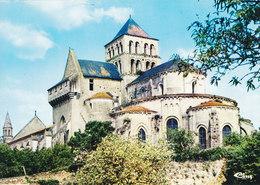 79 Saint Jouin De Marnes Eglise Abbatiale L'Abside (2 Scans) - Saint Jouin De Marnes