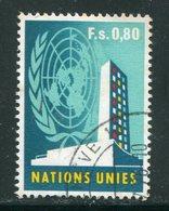 NATIONS UNIES- Office De Genève- Y&T N°9- Oblitéré - Office De Genève