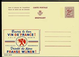 Publibel Neuve N° 2300  ( Buvez Le Bon VIN De France) - Stamped Stationery
