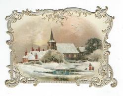 CHROMO DECOUPIS 1890 IN RILIEVO - Other
