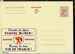 Publibel Neuve N° 2301  ( Buvez Le Bon VIN De France) - Stamped Stationery