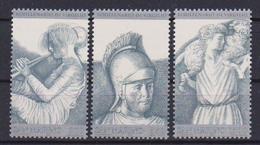 SAN MARINO 1981 BIMILLENARIO DELLA MORTE DI VIRGILIO SASS. 1075-1077 MNH XF - San Marino