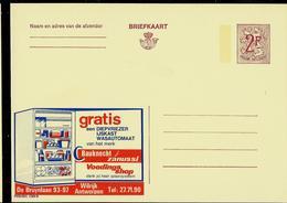 Publibel Neuve N° 2304 ( Frigo BAUKNECHT - Zanussi) - Stamped Stationery