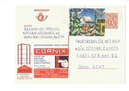 Publibel 2704 - CORNIX  - 0421 - Stamped Stationery